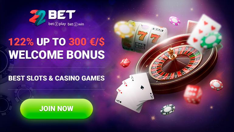 Las ventajas técnicas de 22BET Casino