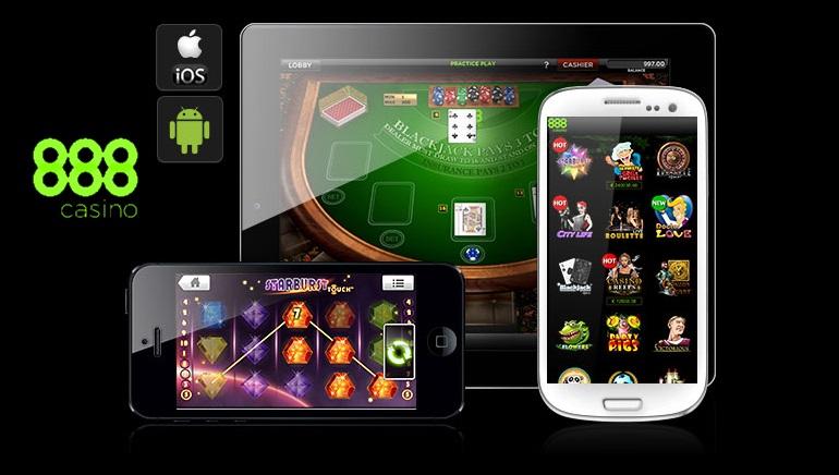 Juegos para llevar en 888 Mobile Casino