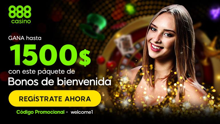 No puedes perterte la nueva oferta de bienvenida de 888 Casino