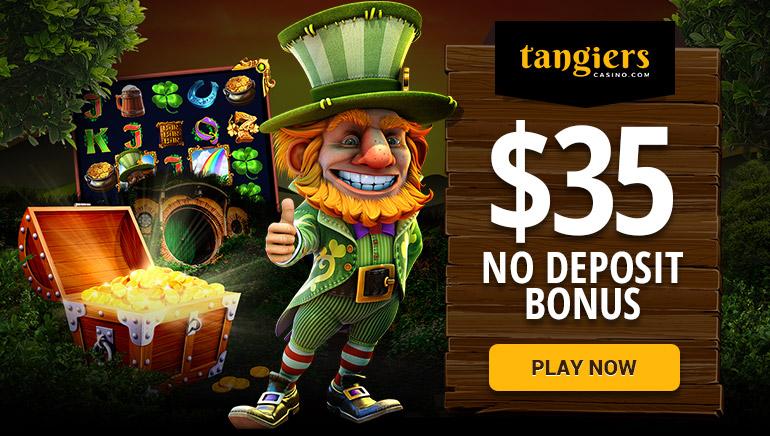 Consigue 35 $ sin depósito en Tangiers Casino