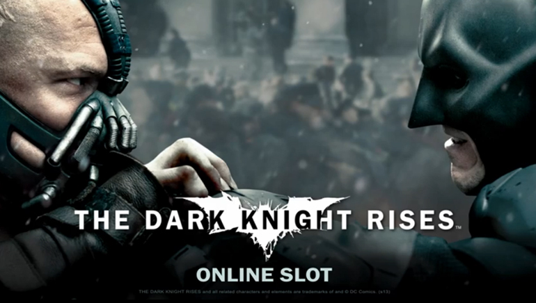 Batman: The Dark Knight pronto en los Casinos Online