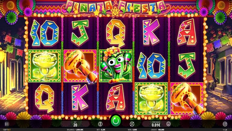 La tragaperras Piñata Fiesta enciende la fiesta en los casinos de iSoftBet