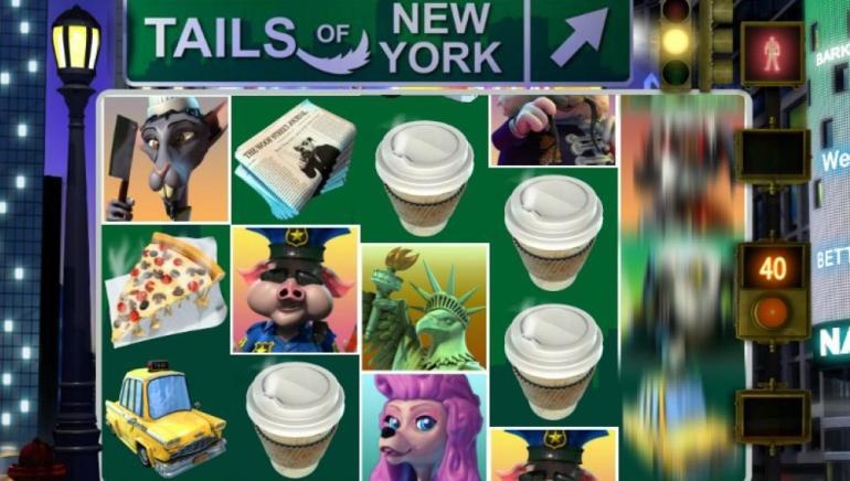 El juego Tails of New York llegó al Black Lotus Casino